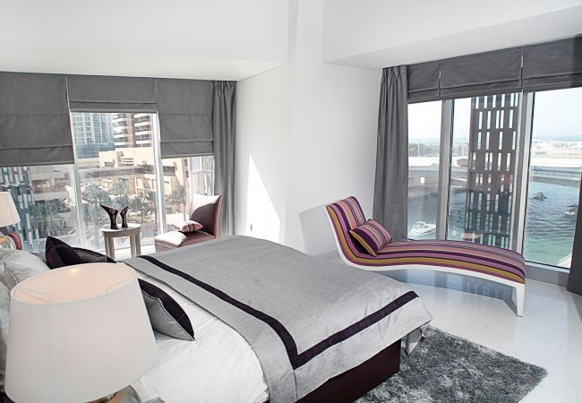 in Dubai - Waterfront suite at iconic tower