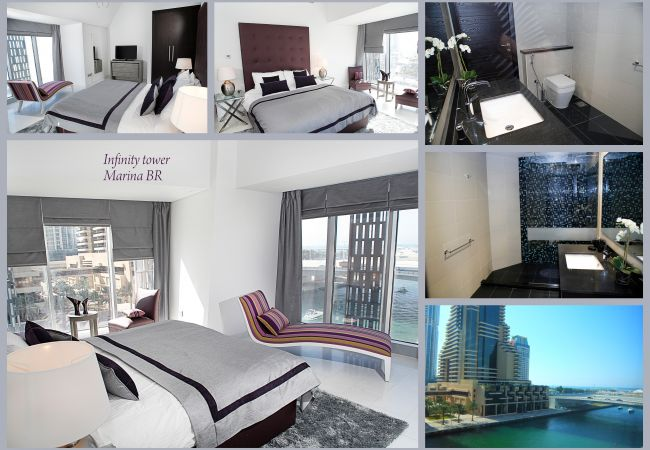 Apartment in Dubai - Waterfront suite at iconic tower
