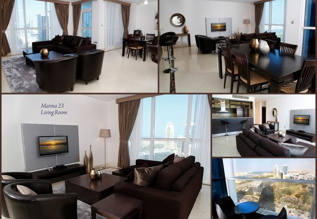 Apartment in Dubai - Amazing view from luxury Marina apt