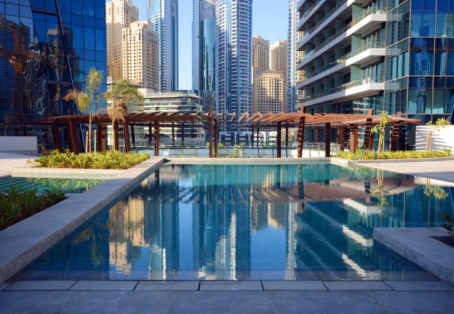 Apartment in Dubai - Stunning Studio by the Dubai Marina Walk