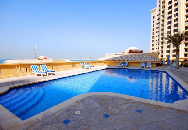 Studio in Dubai - Beautiful Dubai Short Term Apartment by the JBR Walk