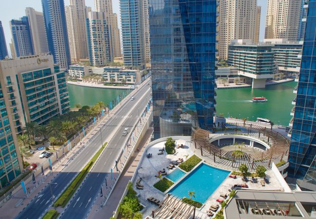 Book your Furnished Apartment in Dubai and enjoy this view today