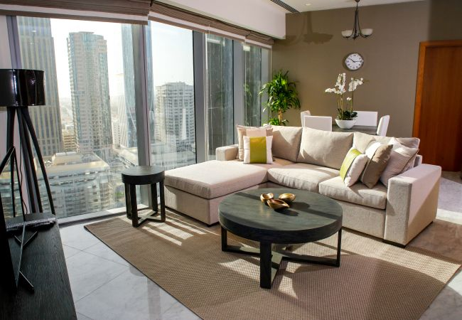 Apartment in Dubai - Bright 1 bedroom furnished apartment in the DIFC Business District