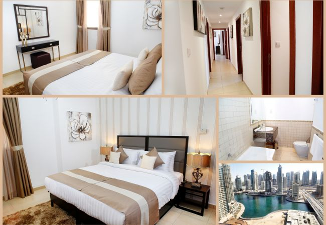 Apartment in Dubai - Large 3 Bedroom Serviced Apartment with Great Views