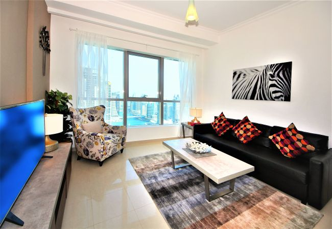 Dubai Short Term Rental Apartments have designer interior