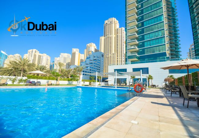 Apartment in Dubai - Desirable 2 Br. w/ Stunning sea views