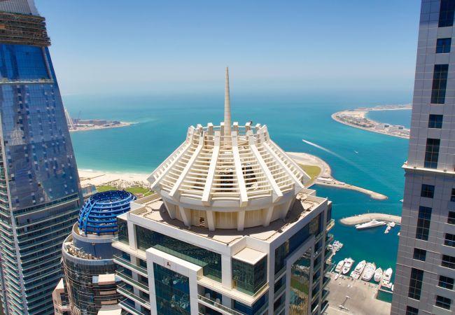 Apartment in Dubai - Cozy 1 BR in the heart of Marina