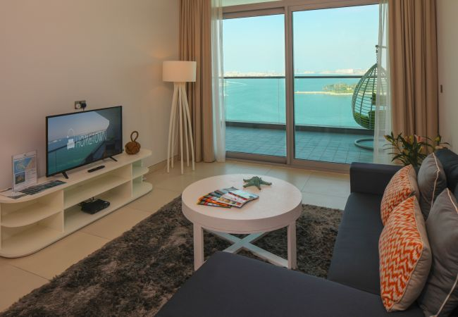 Apartment in Dubai - Beautiful 1BR with a Full Sea View in Palm Jumeirah