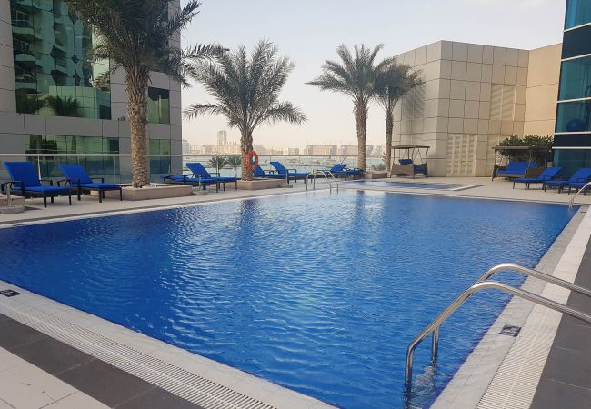Enjoy access to all the facilities of this short term rental on JBR
