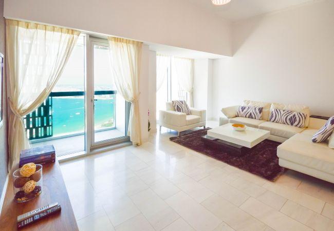 Apartment in Dubai - Scenic 2BR Sea View Apartment