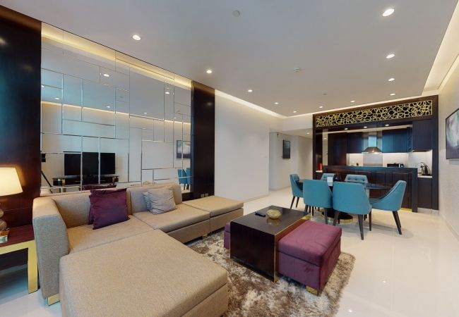 Apartment in Dubai - Modern Sophisticated 3BR Apartmet in Upper Crest Downtown